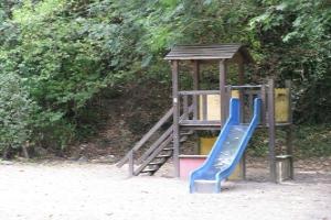 Molini di Triora Aqua Speelplaats in Ligurië