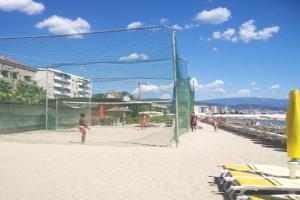 Bagni Colton Bay Beachvolleyball in Ligurië