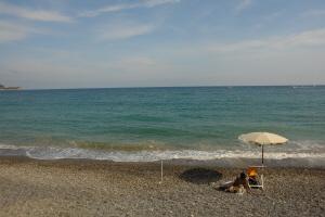 Bagni La Vedetta Stranden in Ligurië