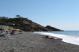Bangi Corallo Stranden in Ligurië