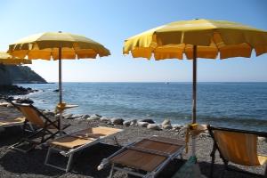 Cinque Moneglia Stranden in Ligurië
