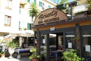 Bounty Bar Gelateria Ijssalons in Ligurië