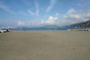 Spiaggia libera Stranden in Ligurië
