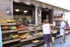 U Caruggia Kruidenierswinkel in Ligurië