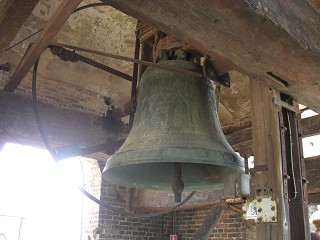 ancient bell in liguria