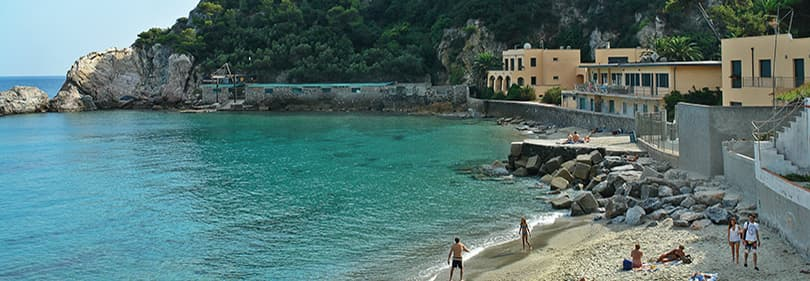 Beach in Albisola, Liguria