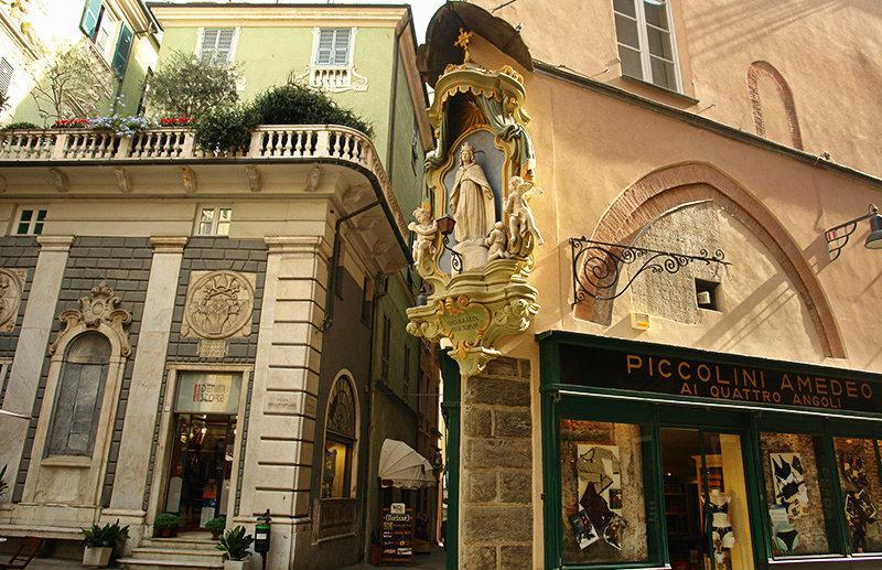 De oude stad van Savona
