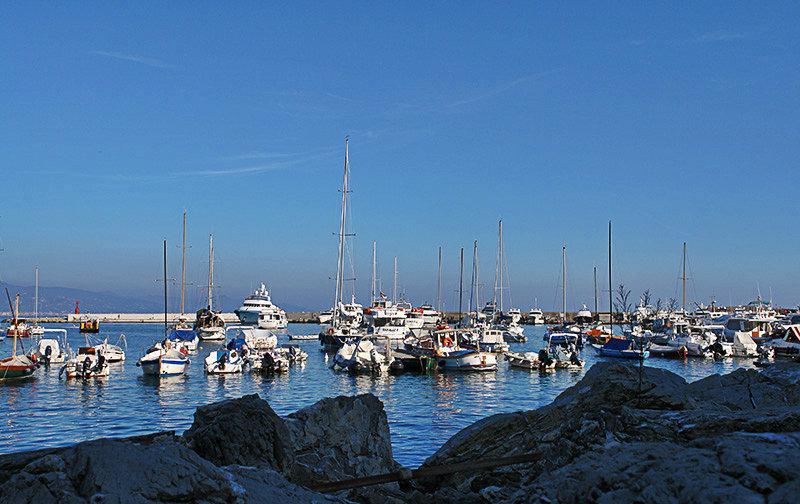 De prachtige haven van Santa Margherita Ligure