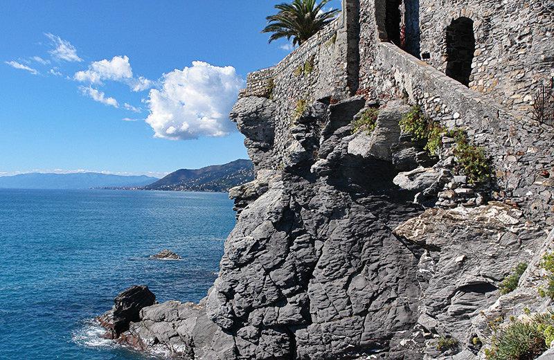 Uitzicht vanaf Camogli
