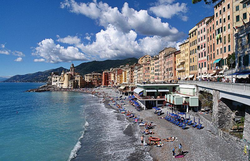 Mooi uitzicht op een vakantiebestemming Camogli