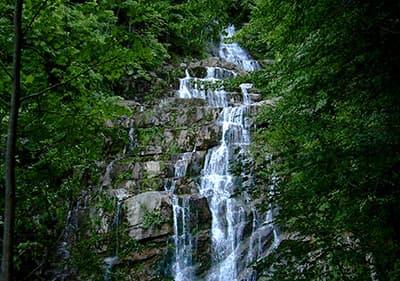 Cascate dell'Arroscia in Ligurië