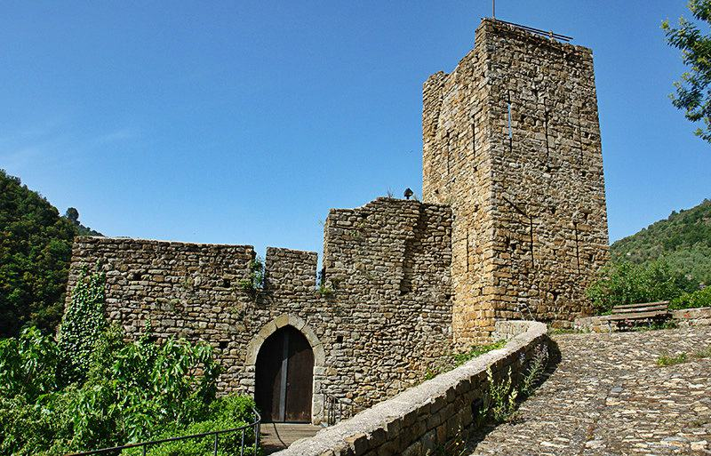 Castello Doria in Isolabona, Ligurië