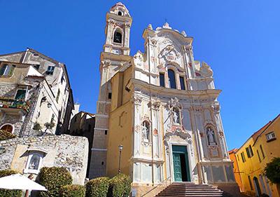 Cervo barokke Chiesa Parrocchiale di San Giovanni Battista