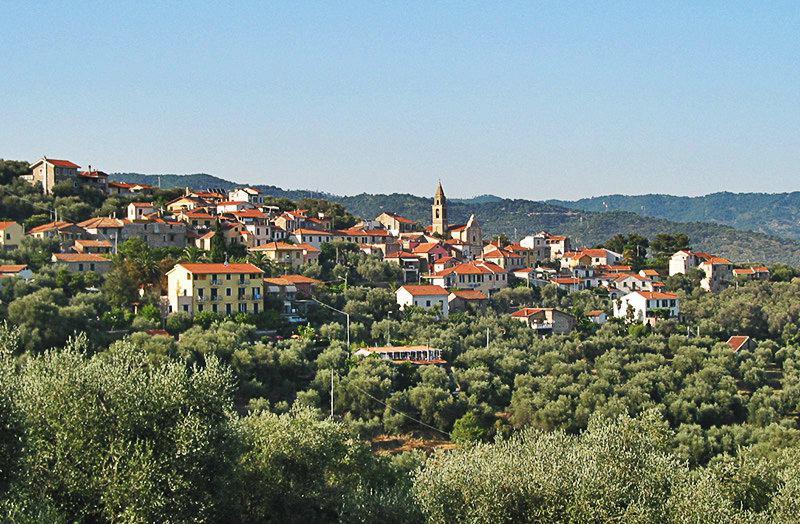 Mooi uitzicht op vakantiebestemming Diano Gorleri