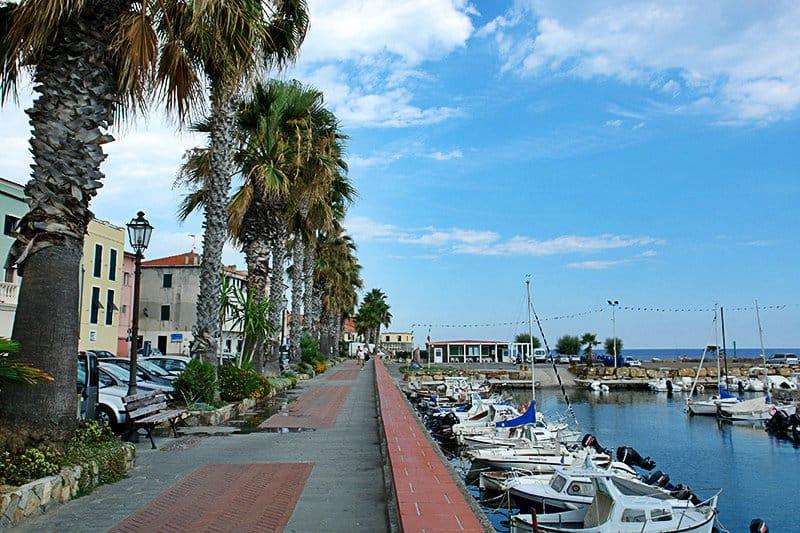 Een mooie haven van Riva Ligure