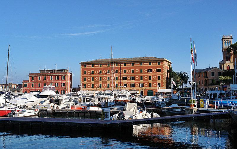 De haven van Santa Margherita Ligure