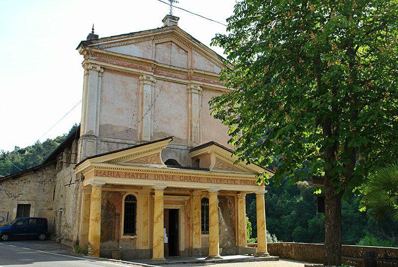 Chiesa di Santa Maria delle Grazie in Isolabona