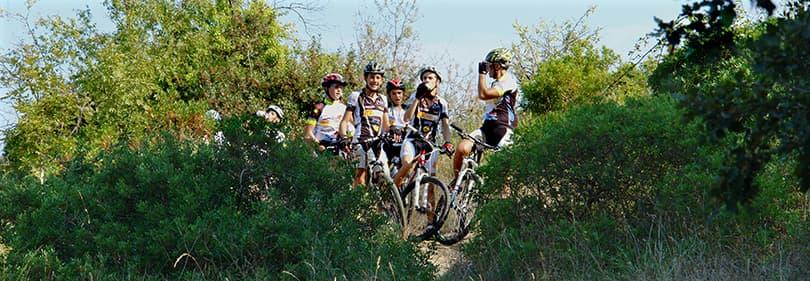 Mountainbike tour in Diano Marina