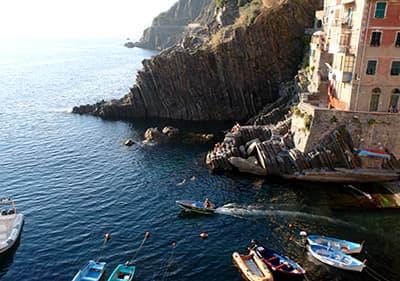 Natuurpark in Riomaggiore, Cinque Terre