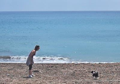 strand Hond in San Lorenzo al Mare
