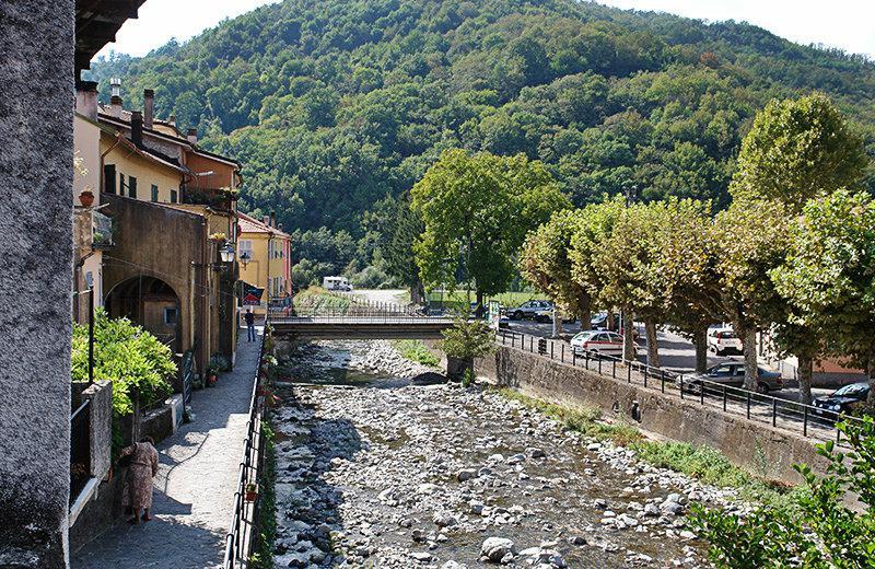 Gevarieerde natuur in Varese Ligure