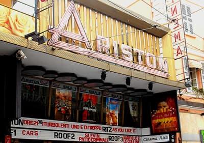 Teatro Ariston in Sanremo, Ligurië