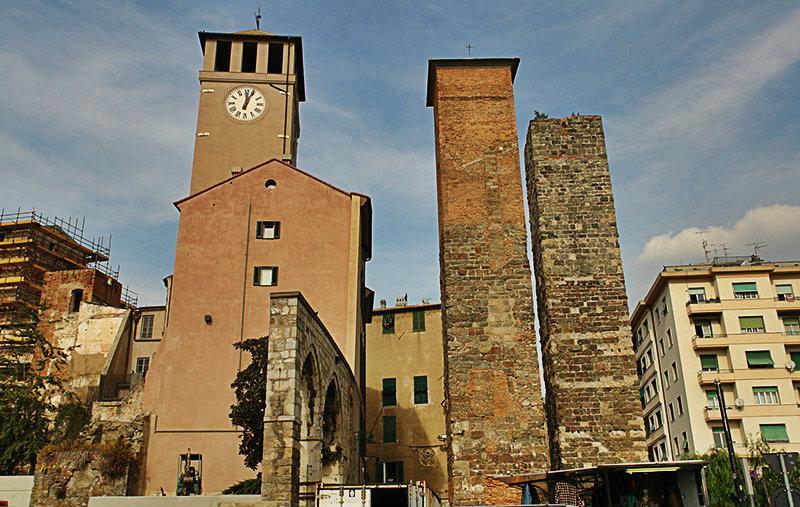 Torre Bindale in Savona, Ligurië