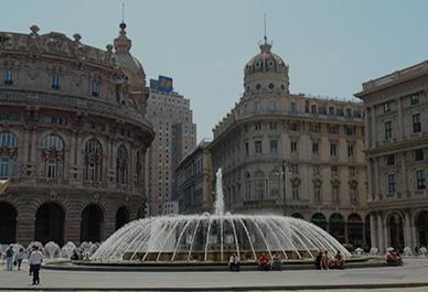 Verken het mooie historische deel van Genua met mooie paleizen en pleinen