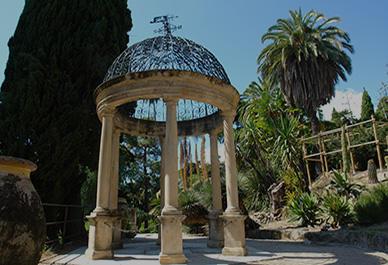 Maak een excursie naar de tuinen van de Hanbury Villa